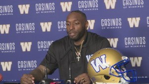 RAW: Blue Bombers Willie Jefferson Interview